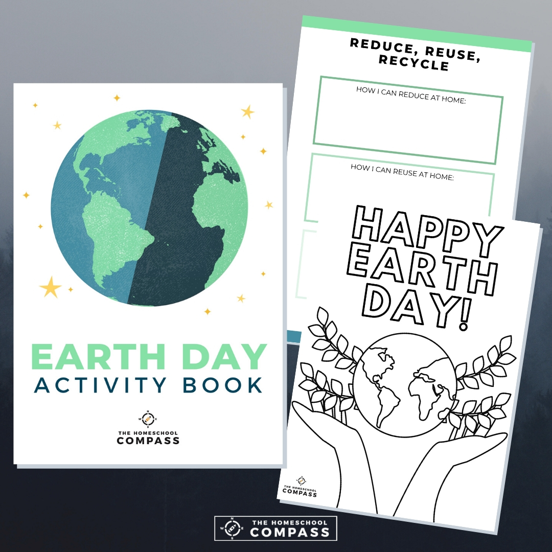 Free Earth Day Activity Book - Homeschool Compass